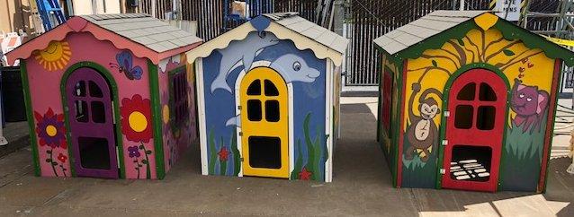 Playhouse Team Building - Habitat for Humanity Restore