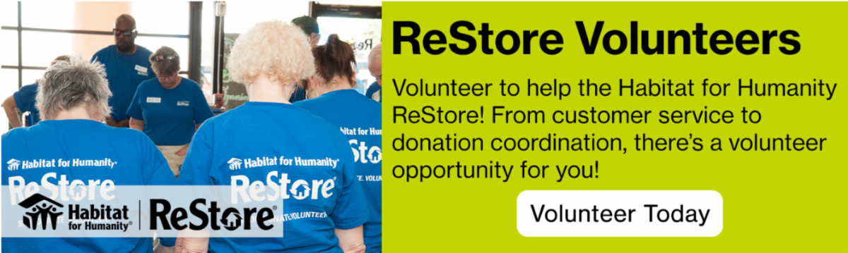 Volunteer at ReStore